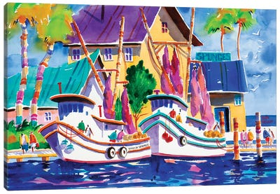Sponge Docks I Canvas Art Print