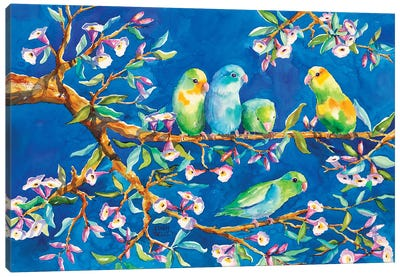 Three Little Birds Canvas Art Print