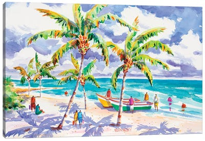 Beach Bums LI Canvas Art Print