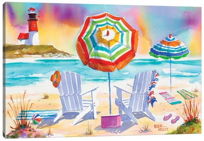 Beach Bliss Canvas Art Print