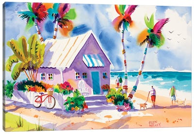 Dog Days Of Summer Canvas Art Print