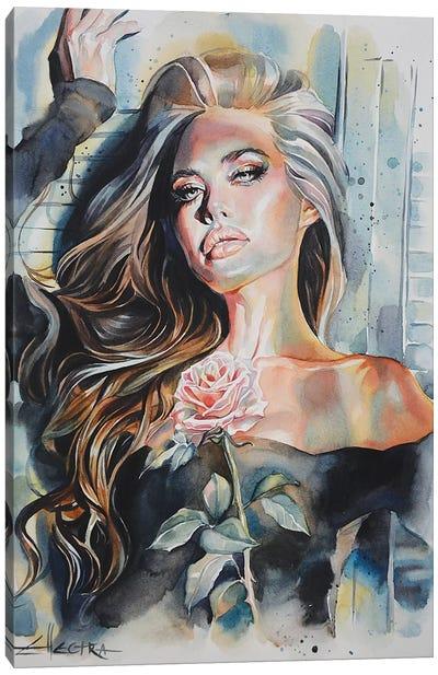 Fading Fragrance Canvas Art Print