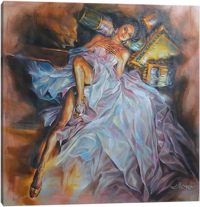 Memories Of Eden Canvas Art Print