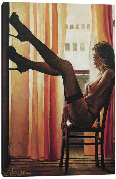 Seven Sunsets Canvas Art Print