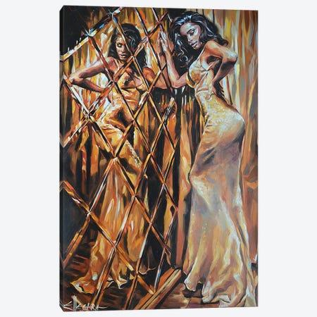 Decadence Canvas Print #ELT4} by Ellectra Art Art Print