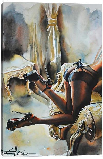 Decadence II Canvas Art Print