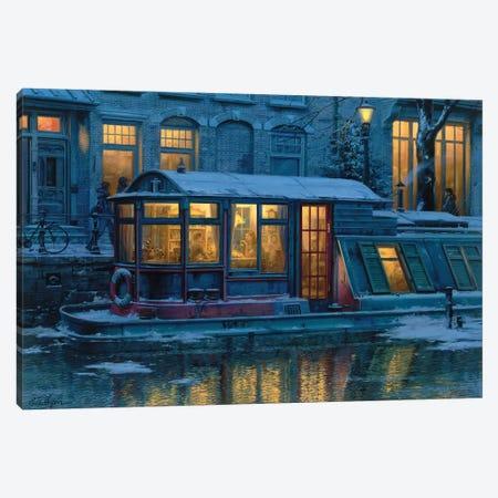 Evening Teatime Canvas Print #ELU10} by Evgeny Lushpin Canvas Art Print
