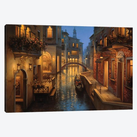 Golden Moment Canvas Print #ELU11} by Evgeny Lushpin Canvas Art Print