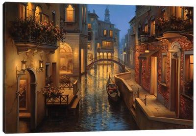 Golden Moment Canvas Art Print