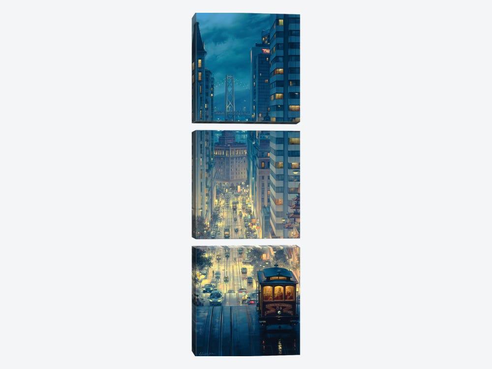 Light Canyon by Evgeny Lushpin 3-piece Canvas Art Print