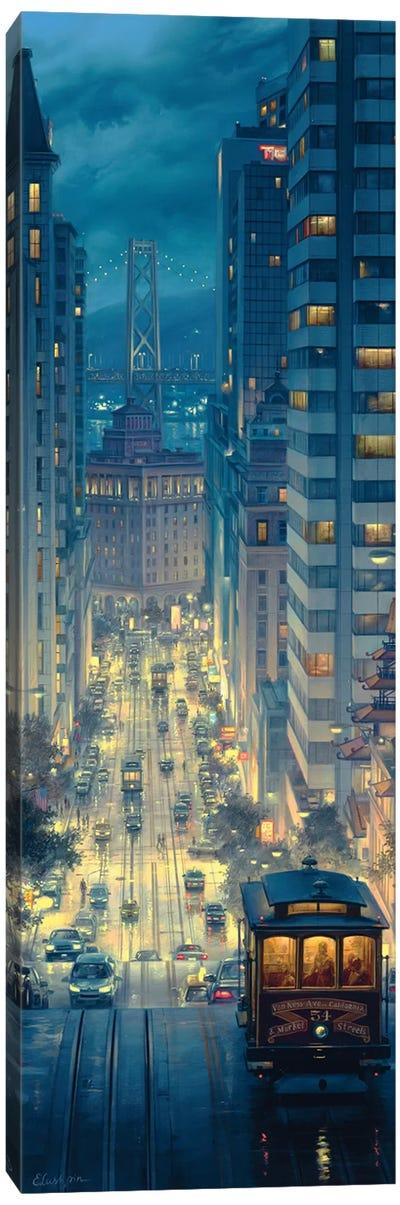 Light Canyon Canvas Art Print