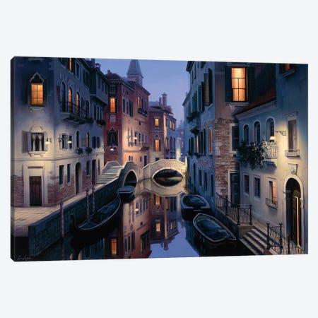 Night Dream Canvas Print #ELU15} by Evgeny Lushpin Canvas Wall Art