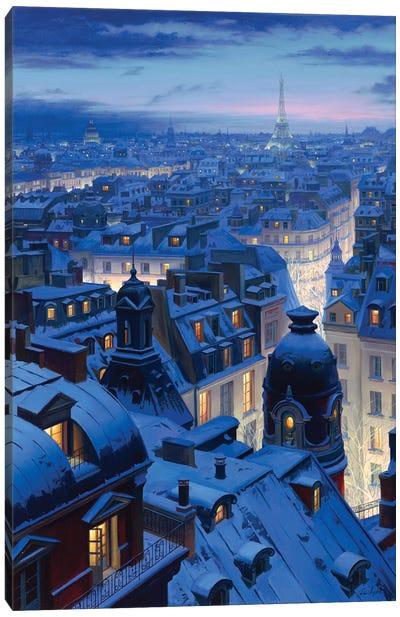 Night Symphony Canvas Art Print