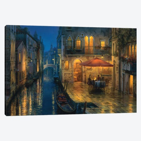 Our Secret Meeting Place Canvas Print #ELU17} by Evgeny Lushpin Canvas Art