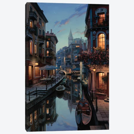 Placidity Canvas Print #ELU19} by Evgeny Lushpin Canvas Print