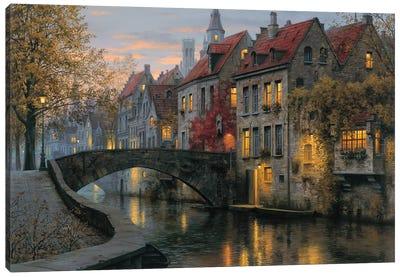 Silent Evening Canvas Art Print
