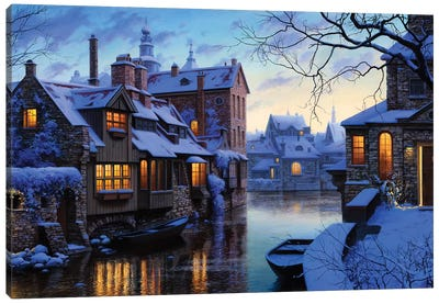 The Venice of the North Canvas Art Print
