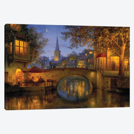Twilight Reflections Canvas Print #ELU26} by Evgeny Lushpin Canvas Print