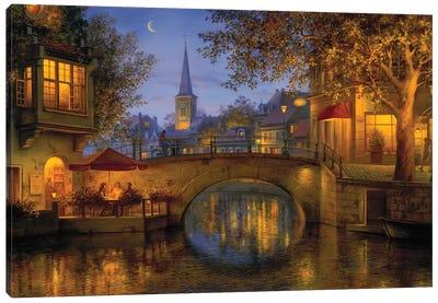 Twilight Reflections Canvas Art Print