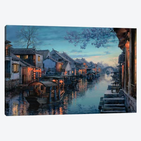 Xitang Melody Canvas Print #ELU28} by Evgeny Lushpin Canvas Art