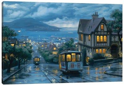 Evening Journey Canvas Art Print