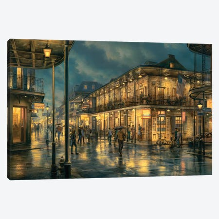 Do You Remember Canvas Print #ELU7} by Evgeny Lushpin Canvas Wall Art
