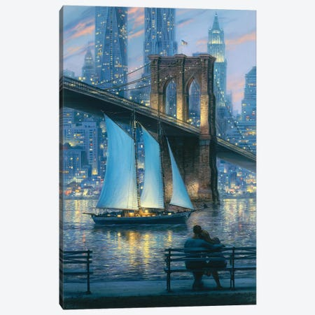 Dream For Two Canvas Print #ELU8} by Evgeny Lushpin Canvas Art Print