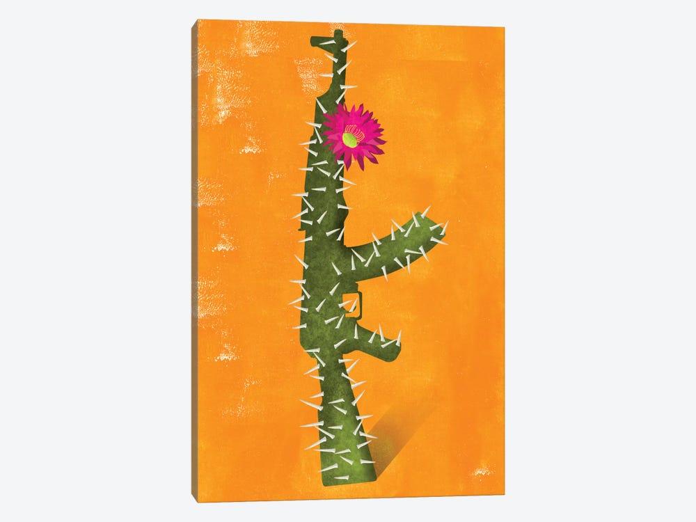 Flower Gun by Ellen Weinstein 1-piece Canvas Print