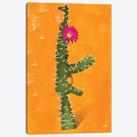 Flower Gun Canvas Print #ELW11} by Ellen Weinstein Canvas Print
