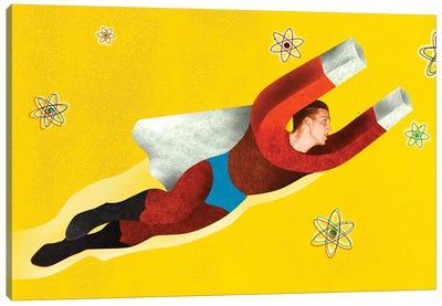 Magnetman Canvas Art Print