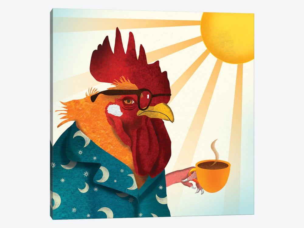 Rooster by Ellen Weinstein 1-piece Canvas Art Print