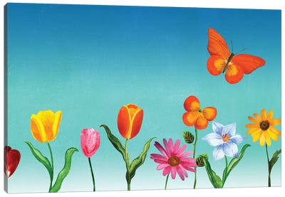 Unstuck Canvas Art Print