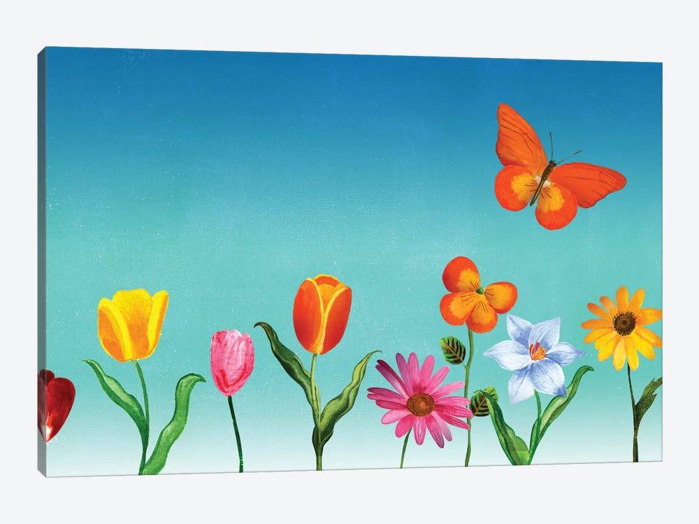 Unstuck by Ellen Weinstein 1-piece Canvas Wall Art