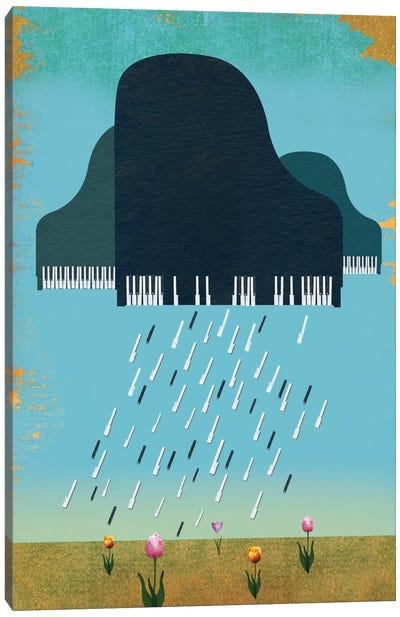 April Showers Canvas Print #ELW1