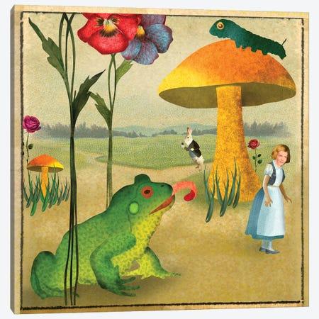 Wonderland Paper Canvas Print #ELW20} by Ellen Weinstein Canvas Art