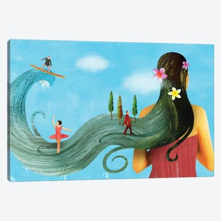 Dream On Canvas Print #ELW21} by Ellen Weinstein Canvas Art