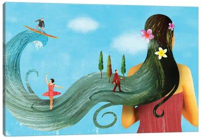 Dream On Canvas Art Print