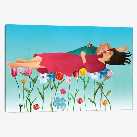Fear Of Dying Canvas Print #ELW22} by Ellen Weinstein Canvas Artwork
