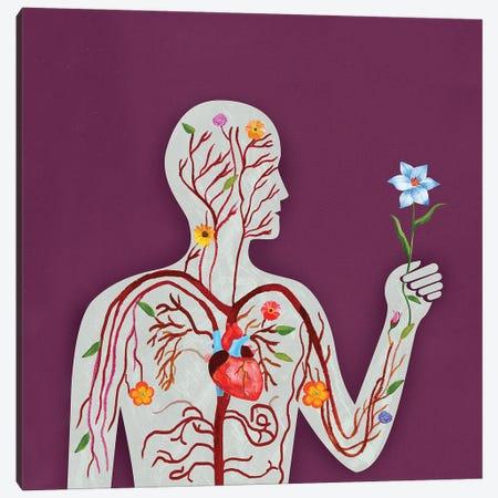 Anatomy Canvas Print #ELW23} by Ellen Weinstein Canvas Artwork