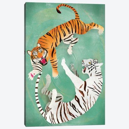 Battle Canvas Print #ELW2} by Ellen Weinstein Art Print