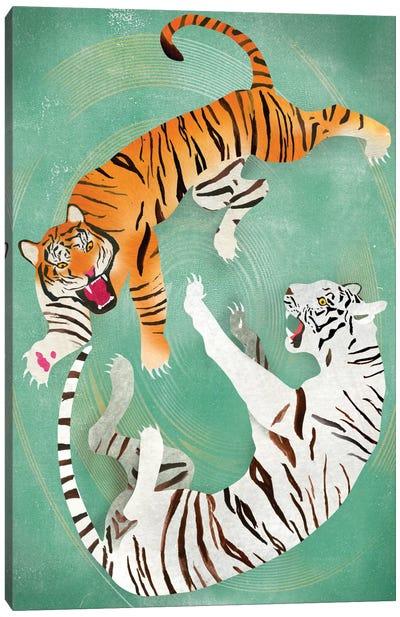 Battle Canvas Art Print