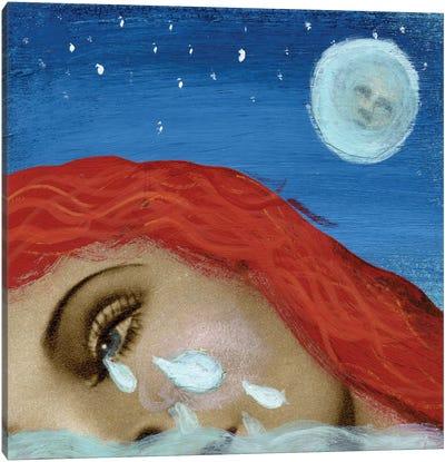 Pool Of Tears Canvas Print #ELW7
