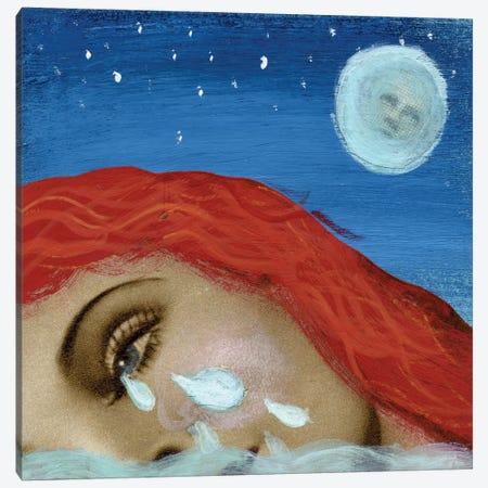 Pool Of Tears Canvas Print #ELW7} by Ellen Weinstein Canvas Art