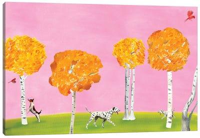 Birch Forest Canvas Art Print