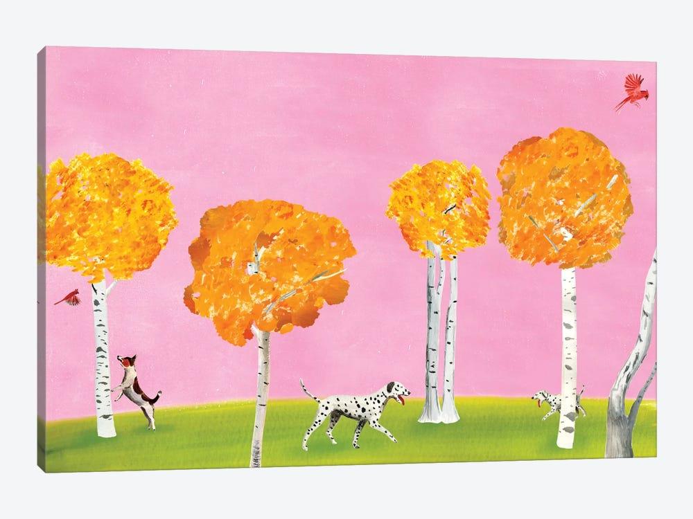 Birch Forest by Ellen Weinstein 1-piece Canvas Art Print
