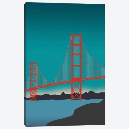 Golden Gate Bridge, San Francisco, California Landscape Canvas Print #ELY110} by Lyman Creative Co. Canvas Wall Art