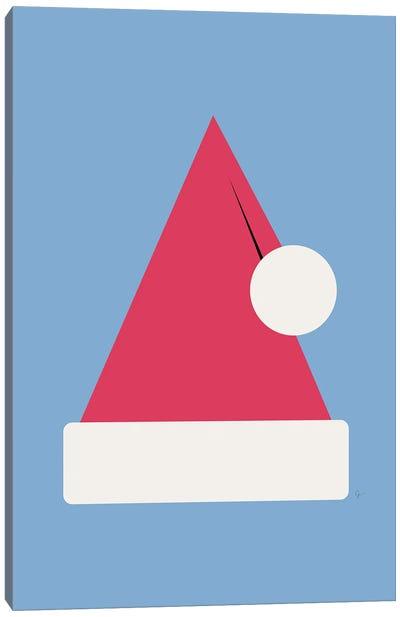 Santa Claus Christmas Hat Canvas Art Print
