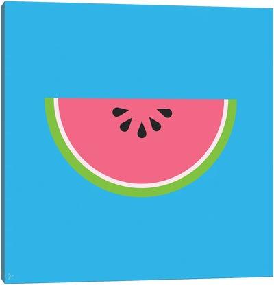 Watermelon Canvas Art Print