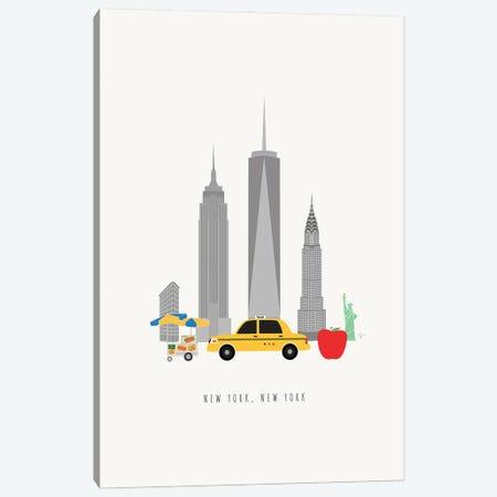 NYC Skyline Canvas Print #ELY191} by Lyman Creative Co. Canvas Art