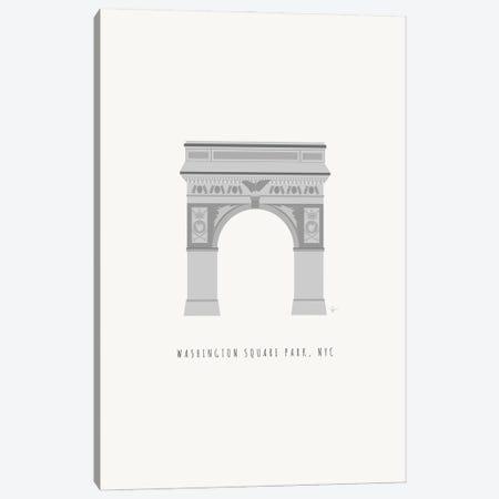 NYC Washington Square Arch Canvas Print #ELY196} by Lyman Creative Co. Canvas Print